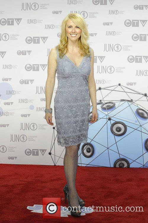 2012 JUNO Awards arrival at The Scotiabank Place.