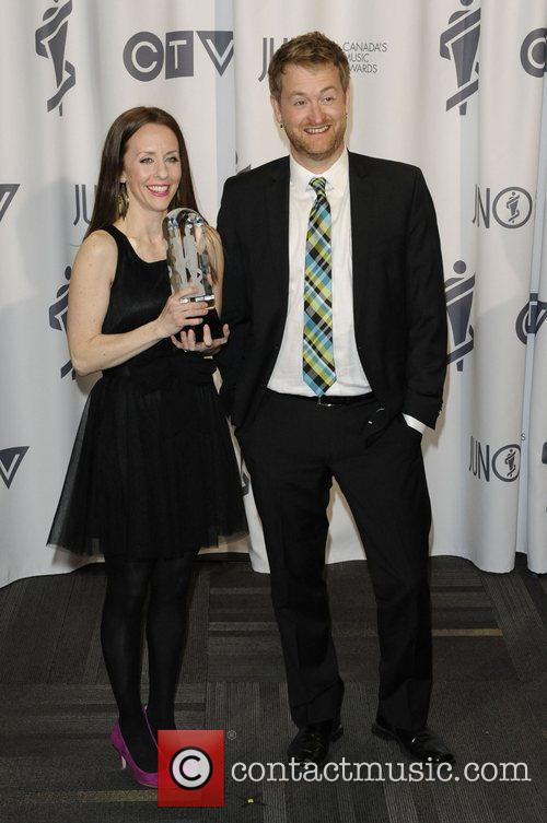 Kim Ridgewell and Jeff Harrison  2012 JUNO...