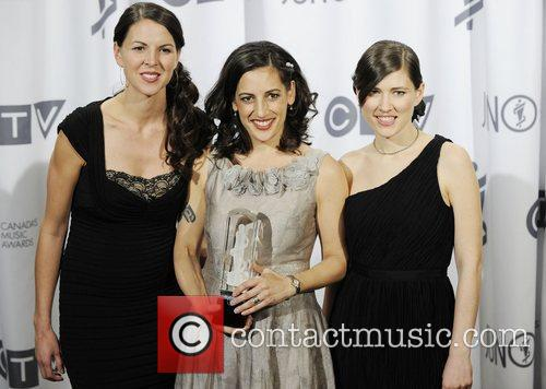 Ruth Moody, Nicky Mehta and Heather Masse of...