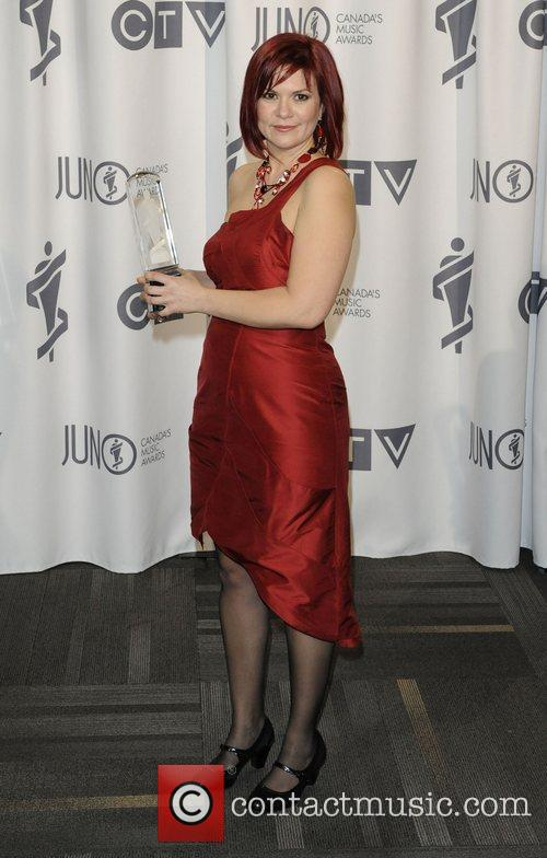 Sonia Johnson  2012 JUNO Gala Dinner and...