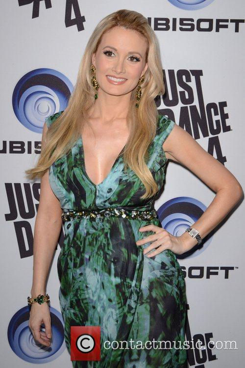 Holly Madison Ubisoft's Just Dance 4 Launch Party...