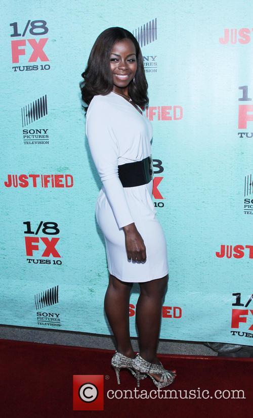 Erica Tazel FX's 'Justified' Season 4 premiere held...