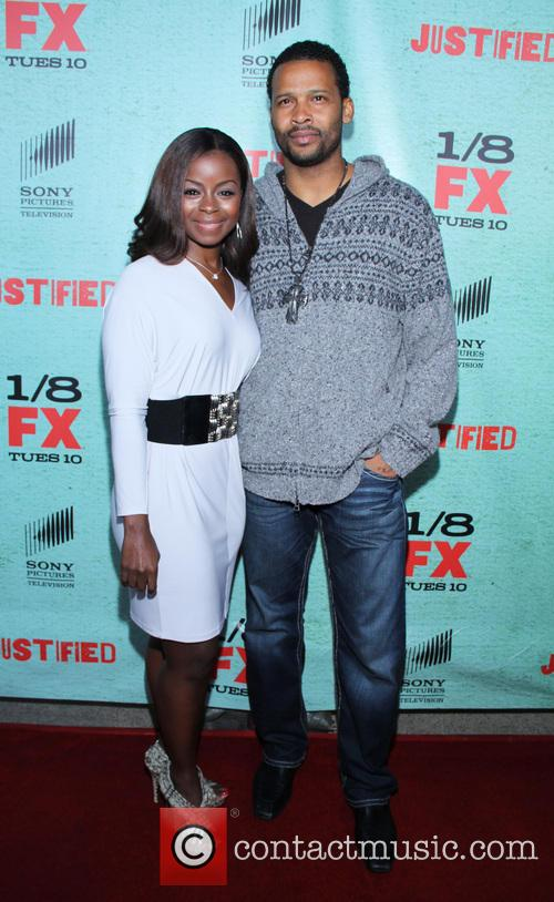 Erica Tazel; Trae Ireland FX's 'Justified' Season 4...