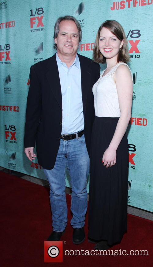 Graham Yost; Guest FX's 'Justified' Season 4 premiere...