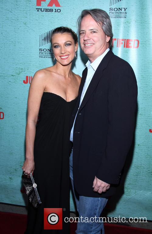 Natalie Zea and Graham Yost