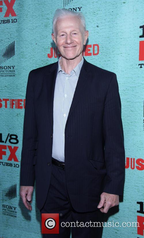 Raymond J. Barry FX's 'Justified' Season 4 premiere...