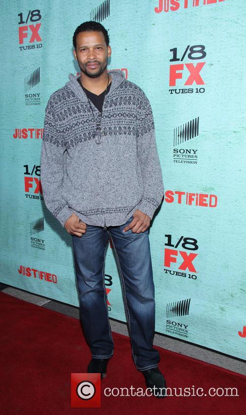 Trae Ireland FX's 'Justified' Season 4 premiere held...