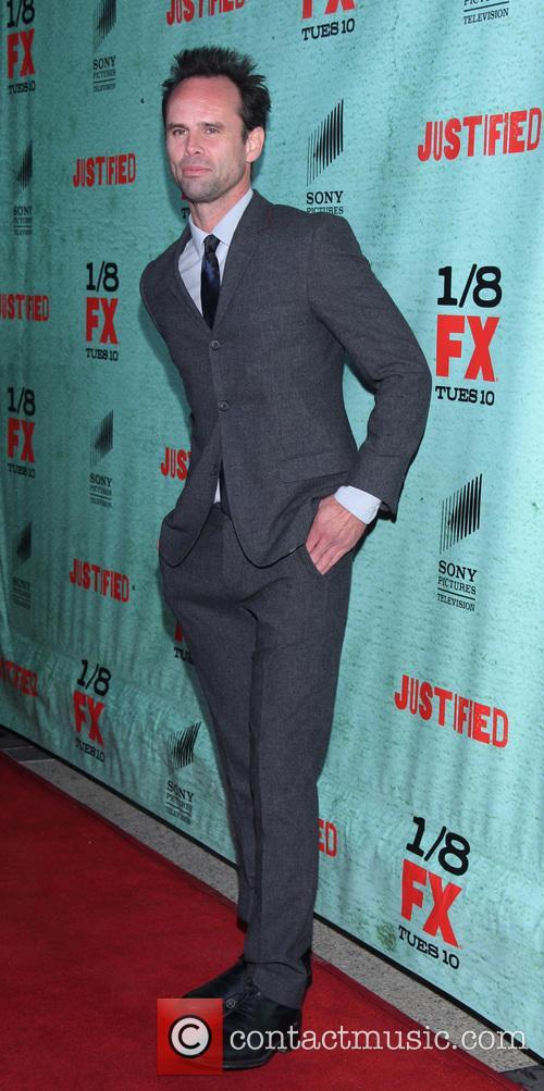 Walton Goggins FX's 'Justified' Season 4 premiere held...