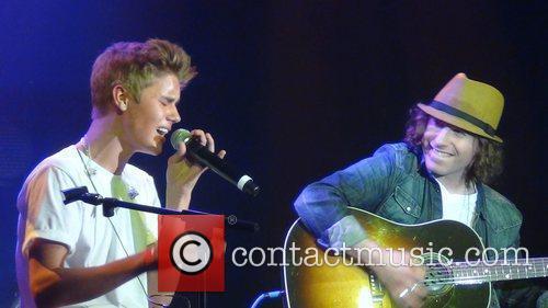 Justin Bieber performs at NRJ Music tour