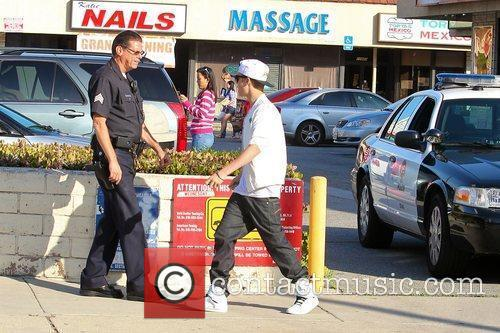Justin Bieber is asked by a Los Angeles...