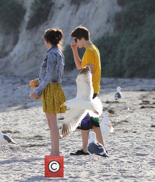 Justin Bieber, Selena Gomez and Malibu Beach 2