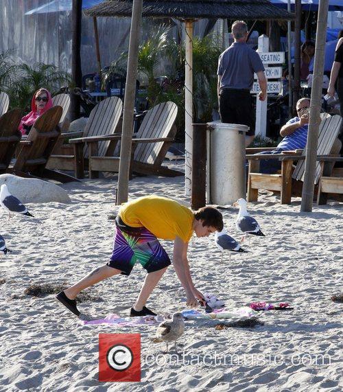 Justin Bieber and Malibu Beach 8