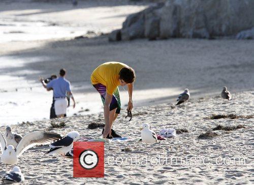 Justin Bieber and Malibu Beach 9