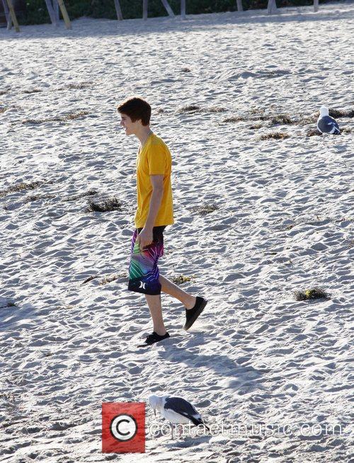 Justin Bieber and Malibu Beach 10