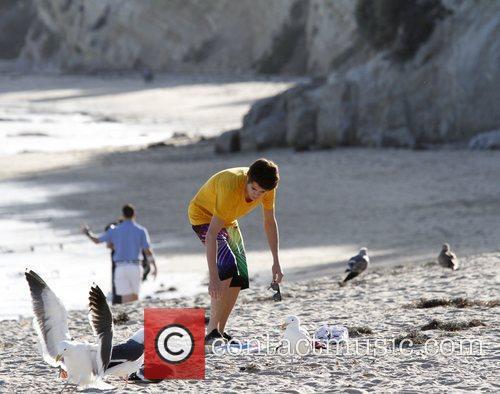 Justin Bieber and Malibu Beach 1