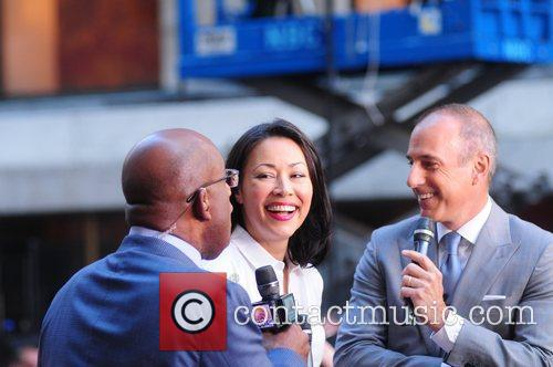 Al Roker, Ann Curry and Matt Lauer 2