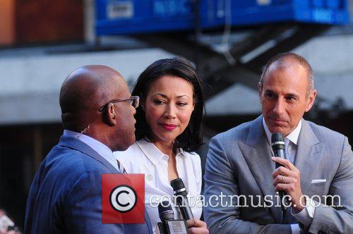 Al Roker, Ann Curry and Matt Lauer