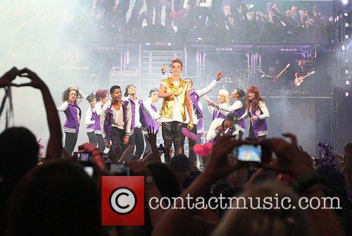 Justin Bieber kicks off the start of his...