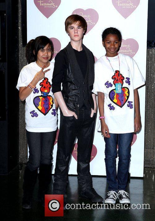Rosario and Justin Bieber