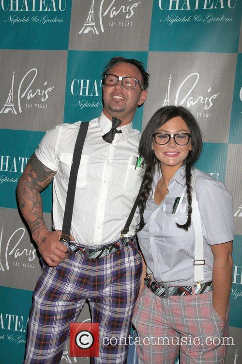 Roger Mathews, Jenni Jwoww Farley, Halloween, Chateau Nightclub, Gardens, Paris and Las Vegas 9