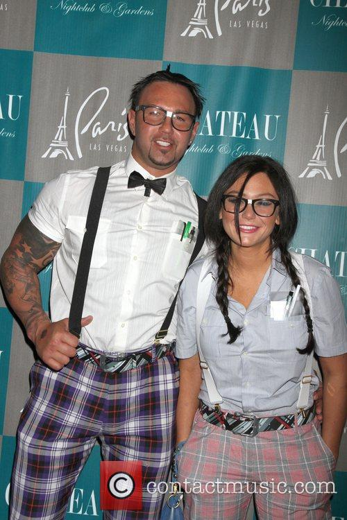 Roger Mathews, Jenni Jwoww Farley, Halloween, Chateau Nightclub, Gardens, Paris and Las Vegas 10
