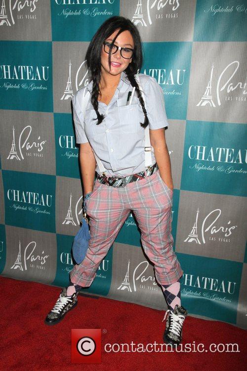 Jenni JWOWW Farley, Halloween, Chateau Nightclub, Gardens, Paris, Las Vegas