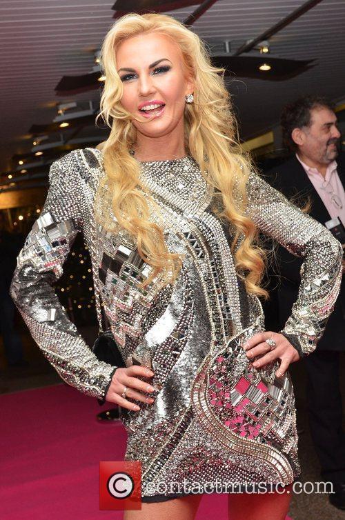 Kamaliya (real name Natalya Shmarenkova) at her launch...