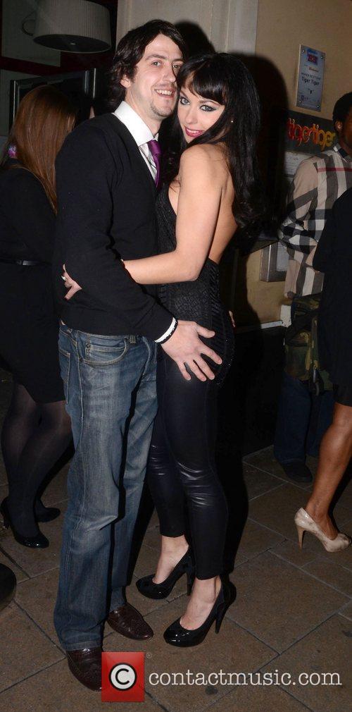 Gabriella Irimia and new boyfriend TigerTiger celebrates it's...