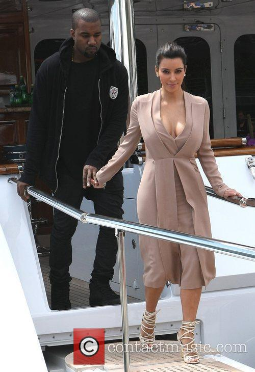 Kanye West and Kim Kardashian 10