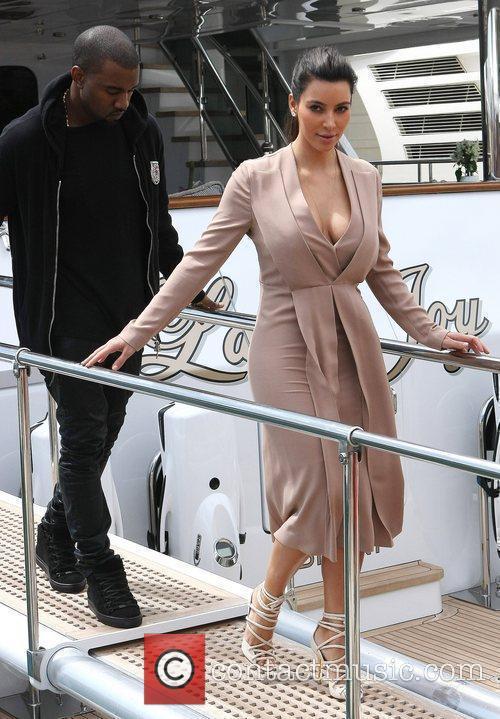 Kanye West and Kim Kardashian 12