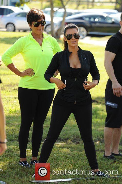 Kim Kardashian and Kris Jenner 7