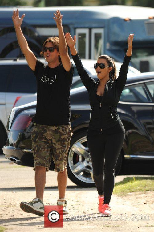 kim kardashian the kardashian family competes in 5922901