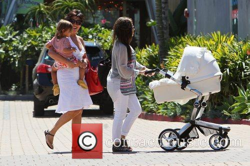 Kourtney Kardashian, Kris Jenner and Mason 3