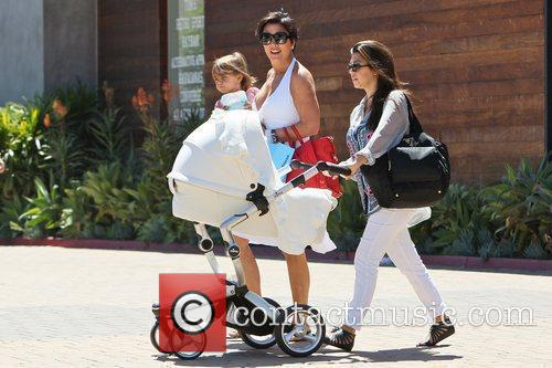 Kourtney Kardashian, Kris Jenner and Mason 6