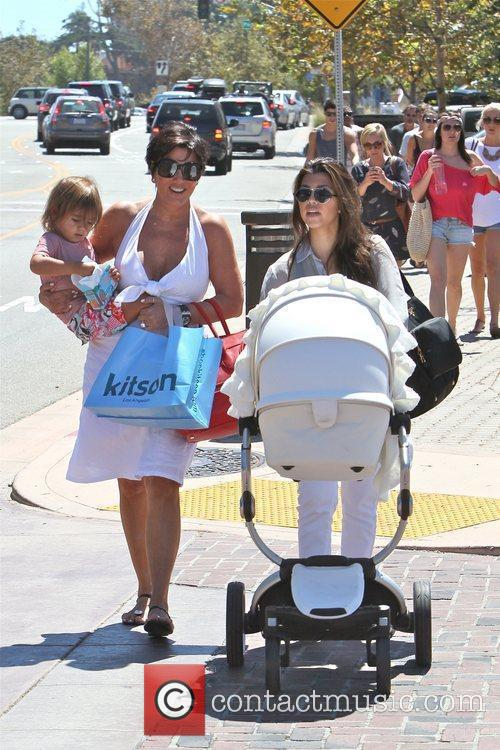 Kourtney Kardashian, Kris Jenner and Mason 11