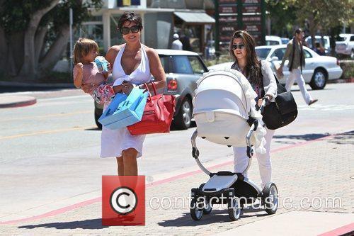Kourtney Kardashian, kris jenner and Mason 12