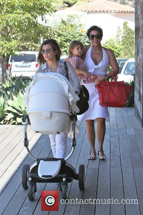 Kourtney Kardashian, Kris Jenner and Mason 1