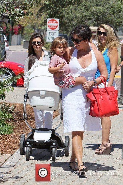 Kris Jenner and Mason 8