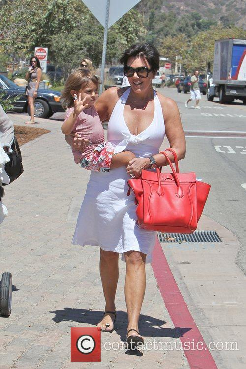 Kris Jenner and Mason 9