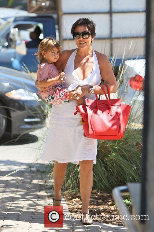 Kris Jenner and Mason 10