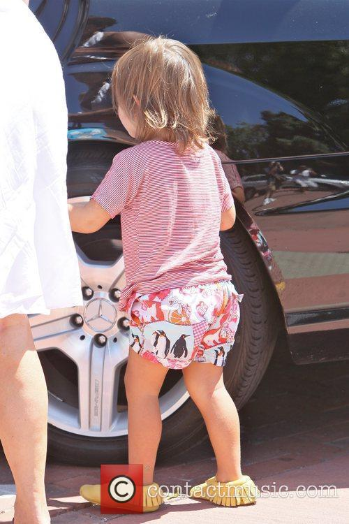 Mason Scotland Disick spends the day shopping with...