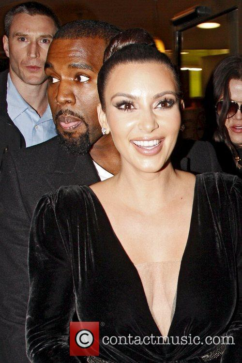 Kim Kardashian and Kanye West 14