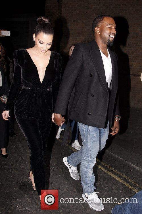 Kim Kardashian and Kanye West 13