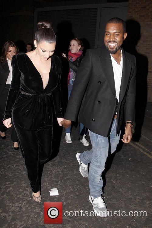 Kim Kardashian and Kanye West 15