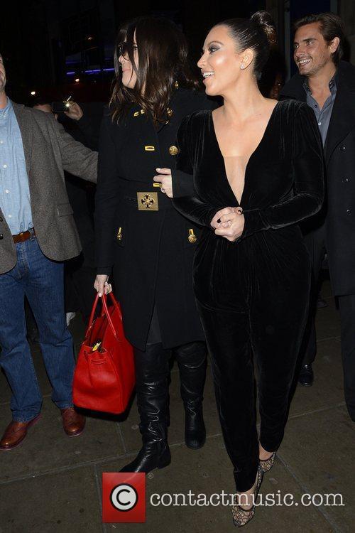 Kim Kardashian, Kanye West, Khloe Kardashian, Kourtney Kardashian, Scott Disick and Hakkasan 19