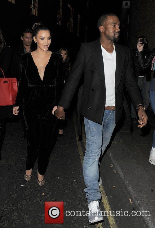Kanye West, Kim Kardashian, Hakkasan, Tottenham Court Road. The and Sainsbury 17