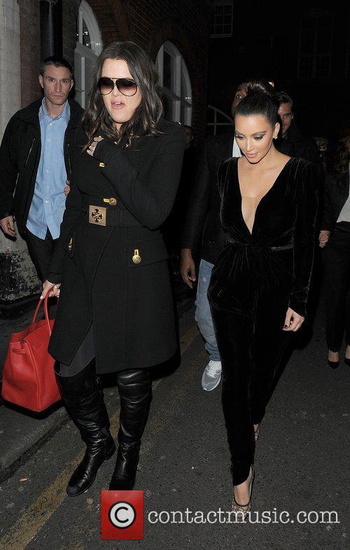 Khloe Kardashian, Kim Kardashian, Hakkasan, Tottenham Court Road. The, Sainsbury