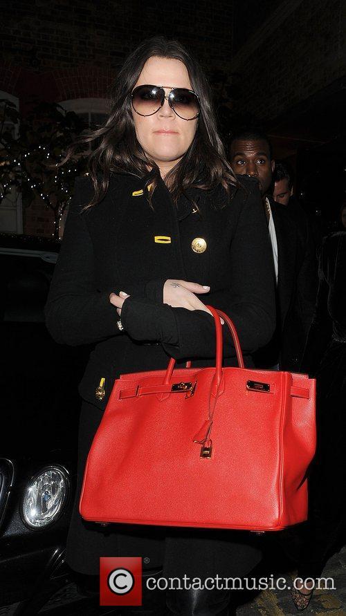 Khloe Kardashian, Kim Kardashian, Hakkasan, Tottenham Court Road. The and Sainsbury 15