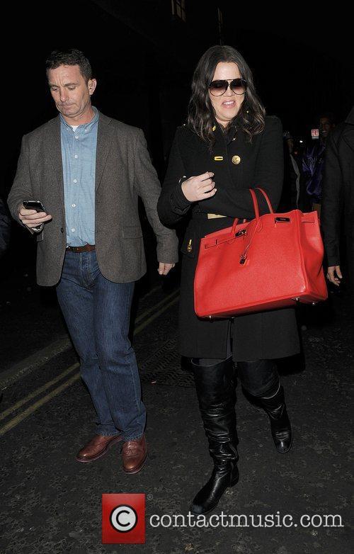 Khloe Kardashian, Kim Kardashian, Hakkasan, Tottenham Court Road. The and Sainsbury 14