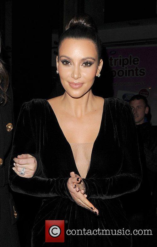 Khloe Kardashian, Kim Kardashian, Hakkasan, Tottenham Court Road. The and Sainsbury 9
